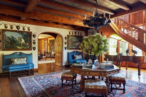 Cool Ceilings Abound In Tommy Hilfiger's Lavish Country Home