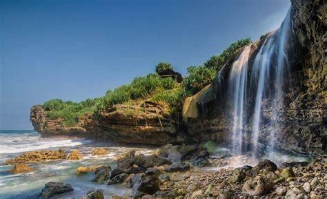 wisata air terjun  jogja   hits