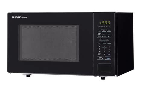 Sharp SMC1131CB: 1.1 Cu Ft Black Countertop Microwave