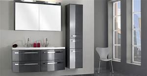 meubles gris laque photo 15 15 meubles gris laque With meuble de salle de bain hygena