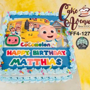 Cari produk cake topper lainnya di tokopedia. Cocomelon   Cake Avenue