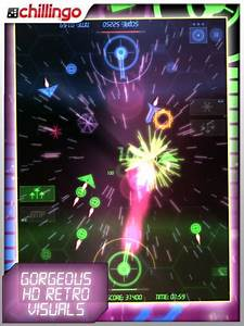 Neon battle hd gives space shooters a new spin for Neon battle hd gives space shooters a new spin