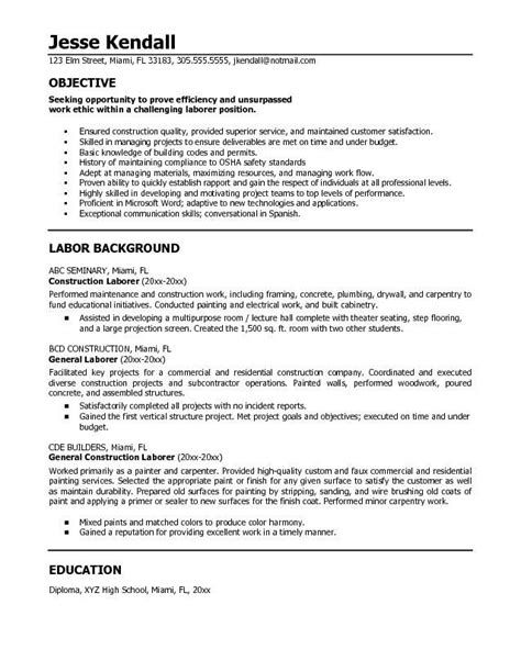 free sle resume objectives you must some