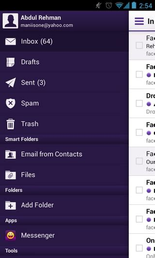 yahoo mail app for android on with the new yahoo mail app for windows 8 ios