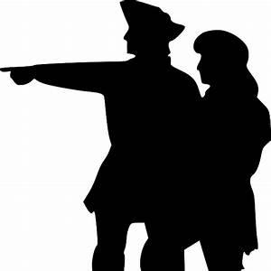 TWO, PEOPLE, SILHOUETTE, POINTING, SAILORS, POINT - Public ...