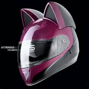 cat motorcycle helmets keep the sweetest biker bad