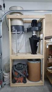 60-003 - Shop Vac and Cyclone Cart Workshop Woodworking