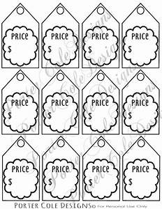 price tags printable digital file filing etsy and tag With template for price tags