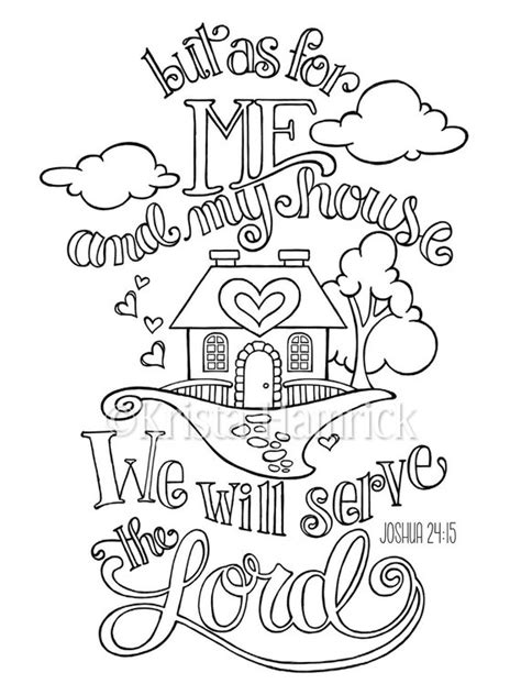 house coloring page  sizes included