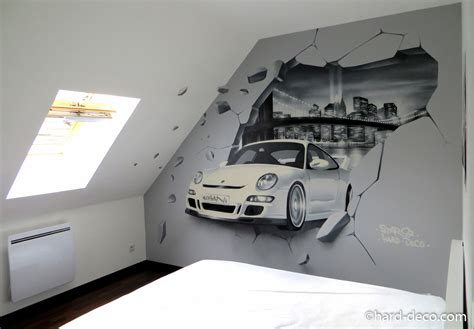 dessin mural chambre best dcor with dessin mural chambre adulte