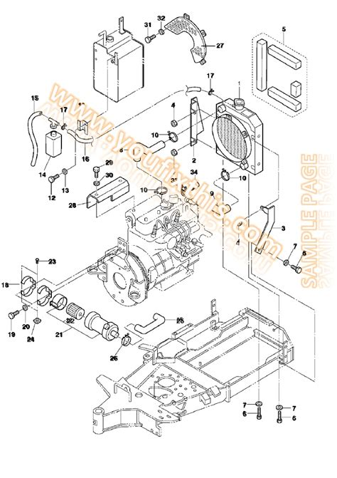 Bobcat 863 Engine Diagram by Bobcat 863 Parts Manual Skid Steer Loader 171 Youfixthis