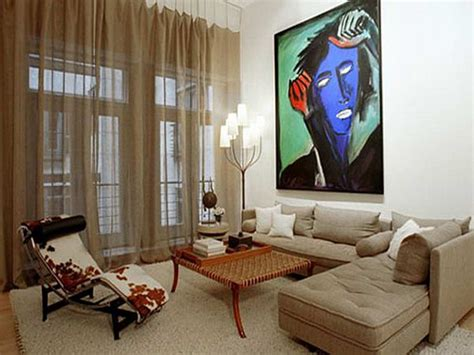 how decorate small apartment bloombety decorating small apartments on a budget with abstract painting decorating small