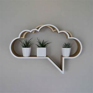 cloud speech bubble shelf unit by youbadcat ...
