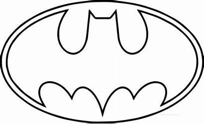 Superhero Coloring Pages Logos Batman Printable Superheroes