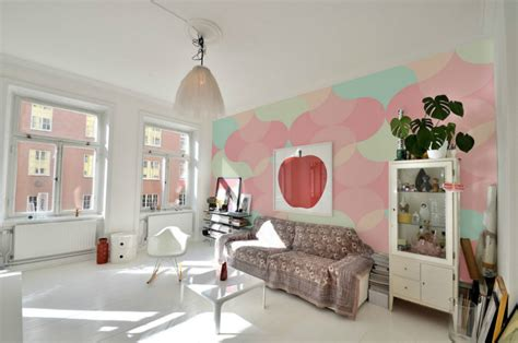turn  home   candy house  pastel colors