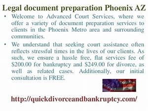 legal document preparation phoenix az With bankruptcy document preparation service