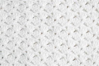 Crochet Blanket Christening Shell Knitting Bernat