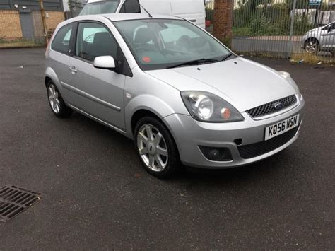 2007-ford Fiesta 1.4 Ghia 3-door Silver Full Leather