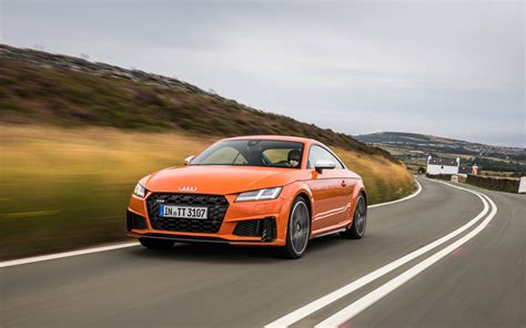 Audi Tt Coupe 2019 by 2019 Audi Tts Coupe On The Famed Mountain Course At The