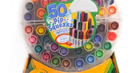 Crayola 50 Pip Squeaks Washable Markers