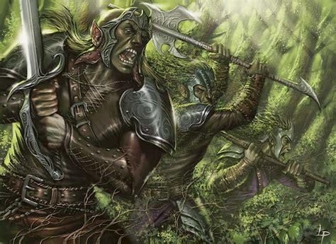 duel decks elves vs goblins elves deck review part 1 of 2 ertai s lament
