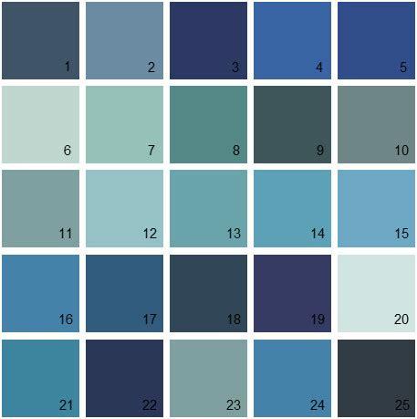 blue paint colors benjamin paint colors blue palette 21 house