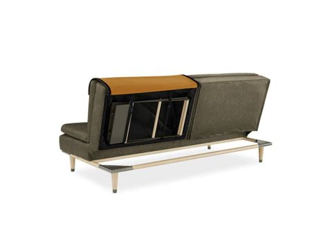 Convertible Sofa Table by A Convertible Sofa That Hides A Table Design Milk