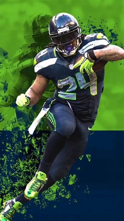 Seahawks Seattle Nfl Iphone Football Lynch Marshawn