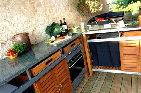 cuisine d été castorama cuisines d 39 extérieur et barbecues design et haut de gamme