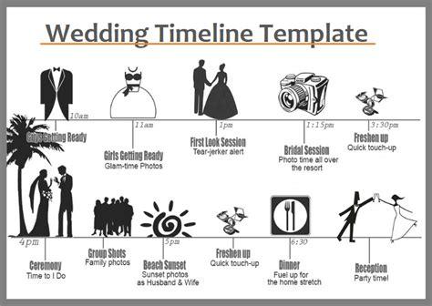 wedding timeline templates   word excel