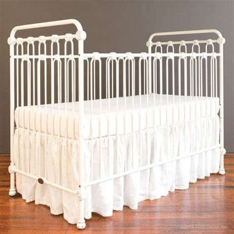 bratt decor joy heirloom iron crib travisdavid nursery