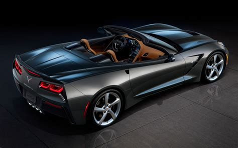 corvette stingray 2014 2014 chevrolet corvette stingray rear three quarters view
