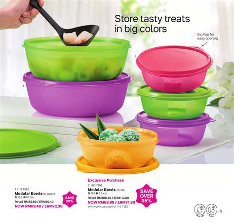 tupperware modular bowl set 8 buah daftar harga terbaru
