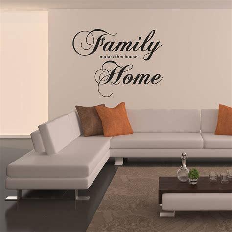 'family Home' Wall Sticker By Oakdene Designs