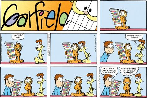 Garfield Comic Strips