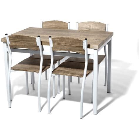 chaises bistro meubles ensemble table ronde et chaise collection avec