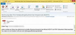 Amazon Rechnung Online : rechnung ber ihre verkaeufergebuehren bei 4 2017 von marketplace ~ Themetempest.com Abrechnung