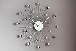 Grande Horloge Murale Design : horloges murales design originales frenchimmo ~ Nature-et-papiers.com Idées de Décoration