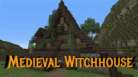 minecraft gundahar tutorials medieval witchhouse youtube
