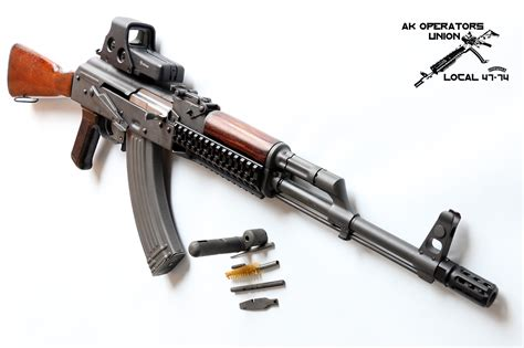 How To Lubricate Your Akm (ak47) And Ak74 Rifles