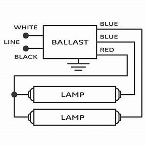 Wiring Pre Circuit Diagram  Output Florescent Ballast
