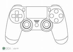 game controller coloring page sketch coloring page With controller photo