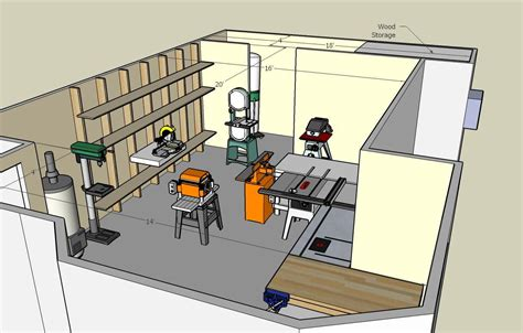 woodworking shop floor plans view  photo gallery