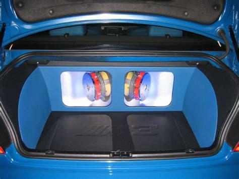 trunk setups car audio diymobileaudiocom car stereo