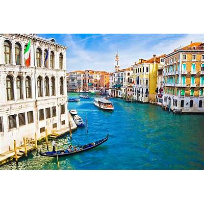 VeniceItaly Rialto Bridge San Marco SquareSt Mark's Church
