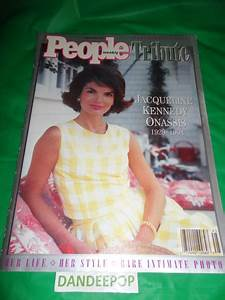 Free: People Weekly Commemorative Issue Jacqueline Kennedy ...