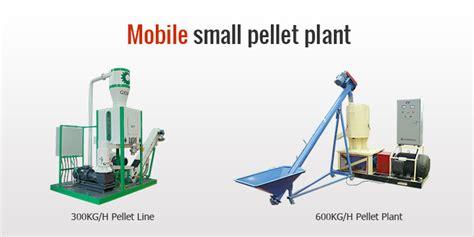 small pellet plant
