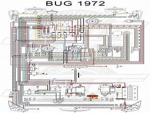 Vw Tech Article 1972 Wiring Diagram  With Images