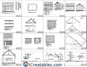 free shed plans with material list details sanglam