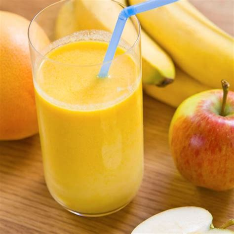recette cuisine rapide recette smoothie pomme banane au yaourt